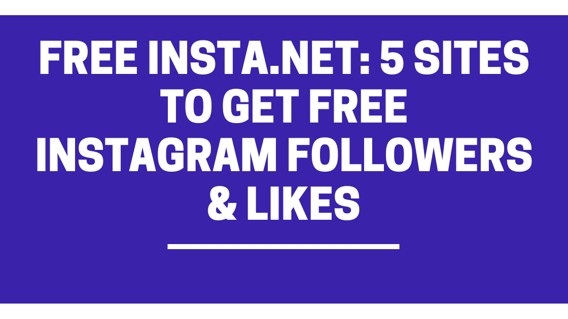 Free Insta.net - Get Free Instagram Followers and Likes