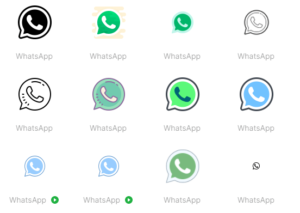 whatsapp icons by icons8